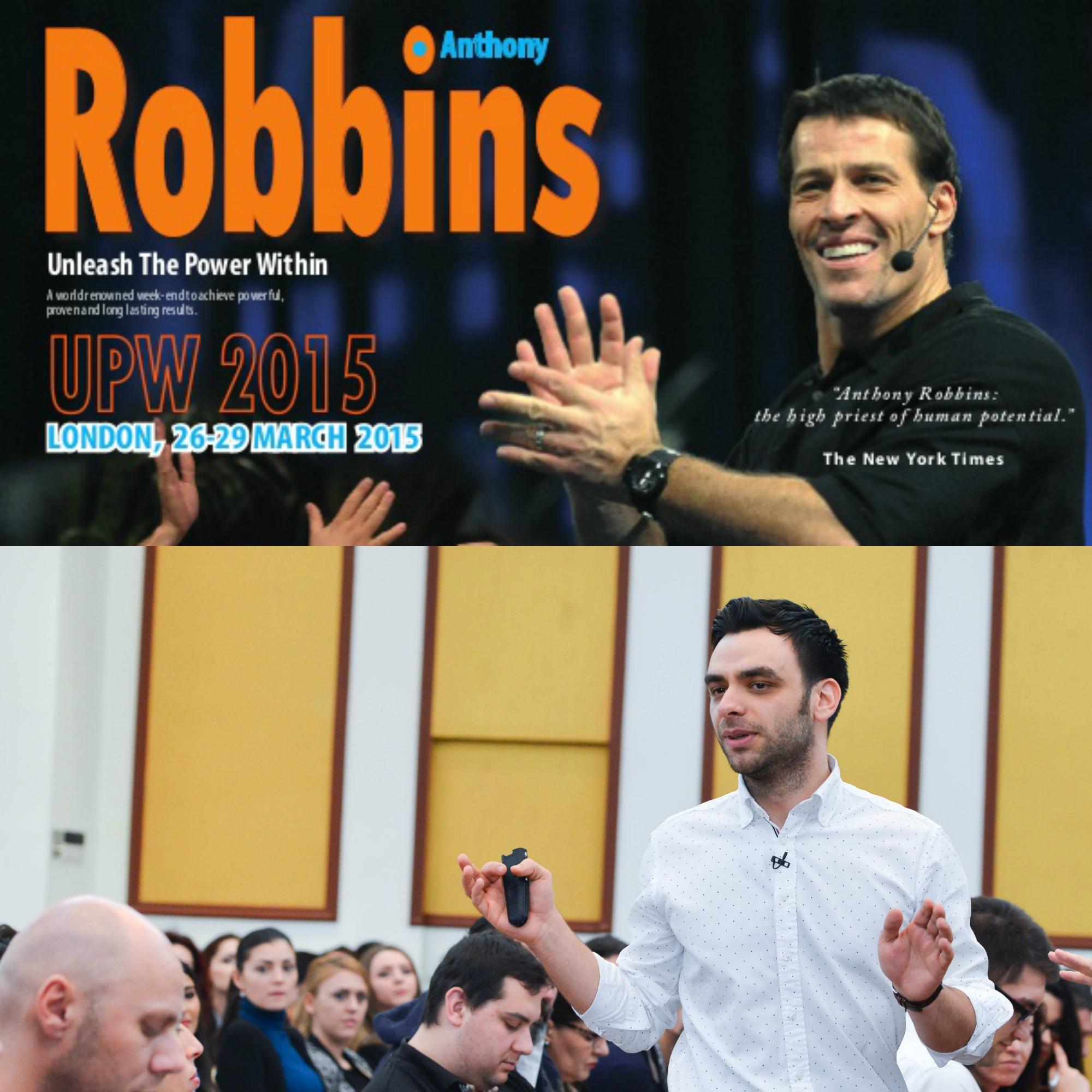 """Andrei da mai departe"" de la Tony Robbins"