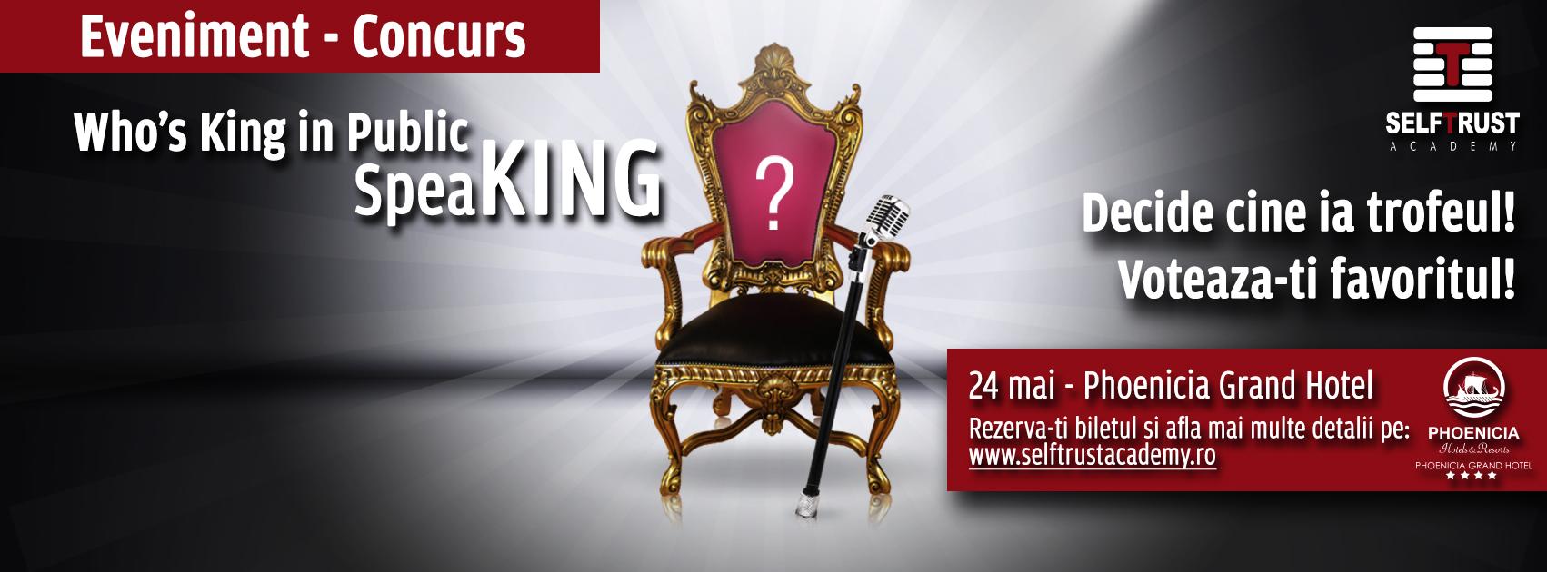 Kings in Public SpeaKING